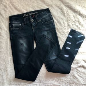 Guess jeans with small rips